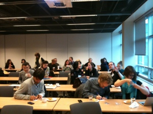 Participants at the Copenhagen 2012 workshop.